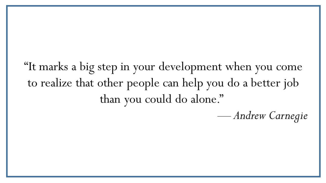 Andrew Carnegie on Personal Development